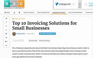 Press archive due for Invoicing solutions small business