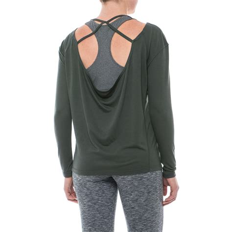 17256 back shirt apana strappy low back shirt for save 50