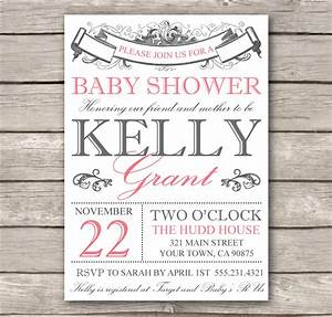 bridal shower invitation or baby shower invitation by With free online baby announcement templates