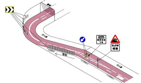 單車徑上的最新交通管理措施範例