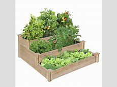 Tiered Cedar Raised Garden Bed Home Design, Garden