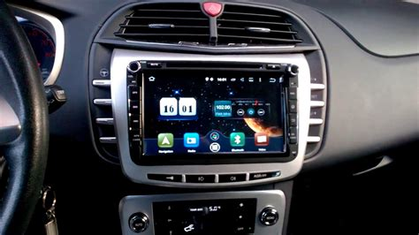 2Din 8 inch Android 5.1New Lancia Delta - YouTube