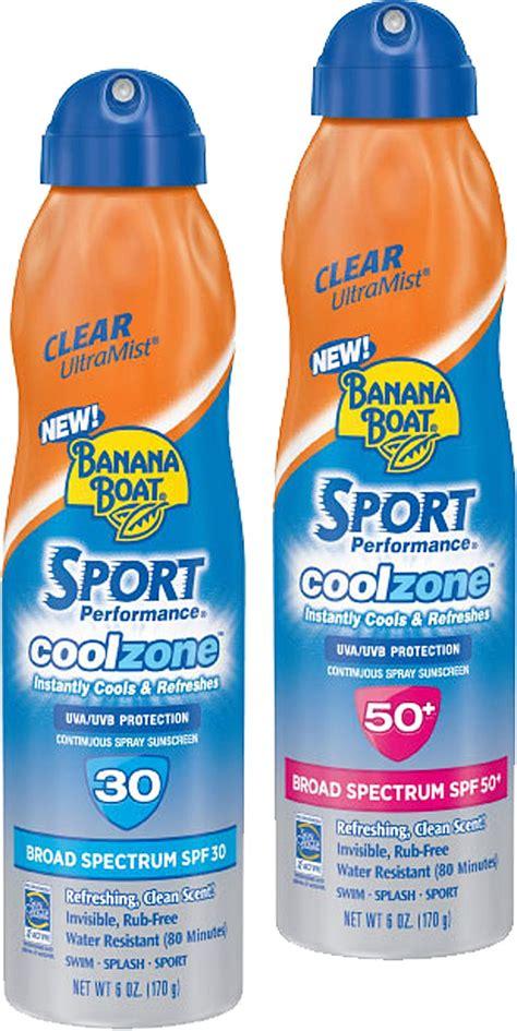 Banana Boat Foam Sunscreen by Catch A Spray Technology Marketing