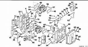 Johnson Intake Manifold Parts For 1994 115hp J115tlarc