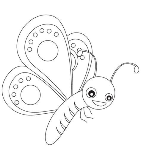 top   printable butterfly coloring pages