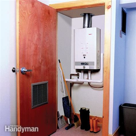 pros  cons  tankless water heaters  family
