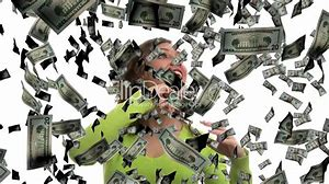 Image result for photos of money falling in fall