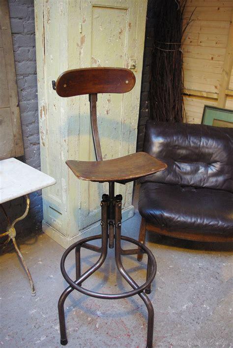 chaise métal industriel chaise haute industriel