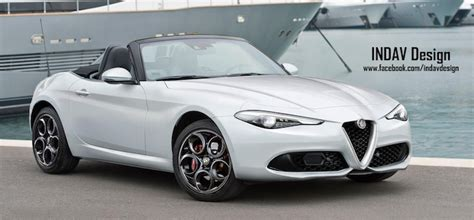 Alfa Romeo 2019 : This Is What New Alfa Romeo Spider Could Look Like