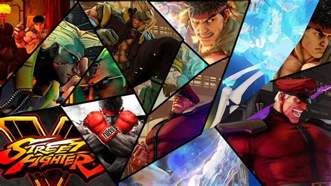 Street Fighter 5 Wallpaper 1080p Street Fighter 5 Wallpapers My Free Wallpapers Hub