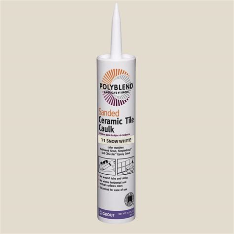 Polyblend Ceramic Tile Caulk by Custom Building Products Polyblend 122 Linen 10 5 Oz