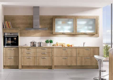 modele cuisine bois moderne clair ambré ou sombre le bois fait entrée dans la