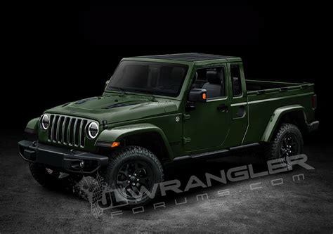 2019 Jeep Wrangler Pickup Looks Scrambler-rific In Latest