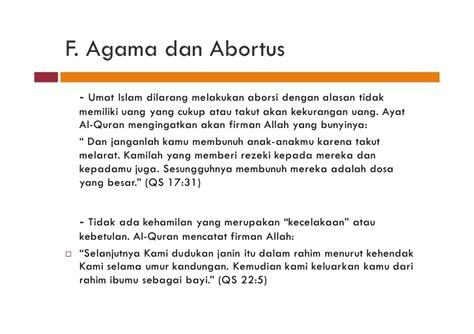 Janin Menurut Al Quran Bioetika Dan Abortus