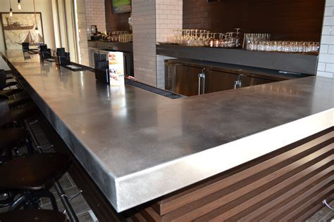 Stainless Steel Countertops ? Custom Metal Home