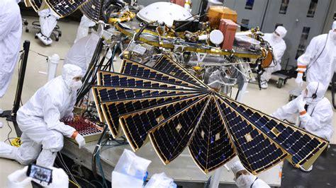 NASA's Next Mars Lander Spreads its Solar Wings – NASA ...