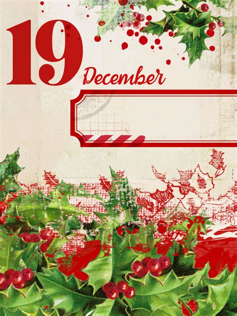 day  december   printable digital scrapbooking