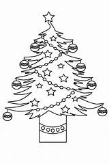 Tree Pages Christmas Coloring Colouring Print Printable Adults Freecoloring sketch template