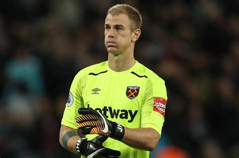 west ham news joe hart delighted   clean sheet