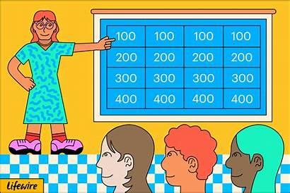 Powerpoint Template Templates Wheel Classroom Teachers Jeopardy
