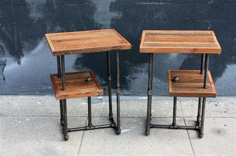 25+ Best Ideas About Industrial Side Table On Pinterest