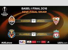 Semifinales Europa League 20152016 Calendario Liga