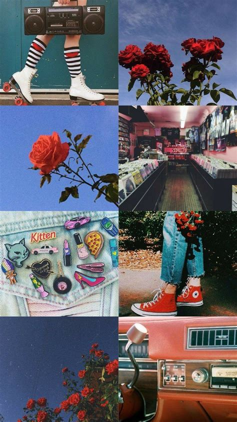 vintage aesthetic collage wallpapers