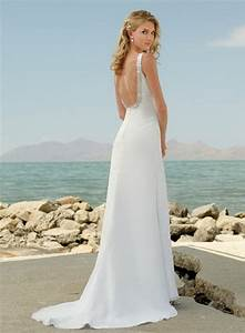 Casual beach wedding dress ideas