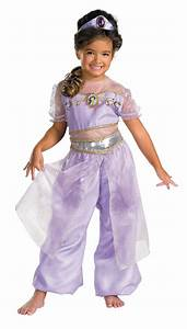 Kids Deluxe Disney Princess Jasmine Costume - Mr. Costumes