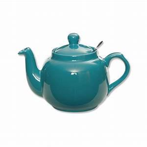 Vase Bleu Canard : th i re anglaise color e et en porcelaine vaisselle chic et design ~ Melissatoandfro.com Idées de Décoration