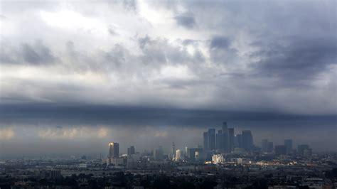 wind rain  hail  la countys forecast