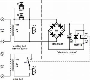 doorbell cascade electronic schematics With doorbell circuit diagram