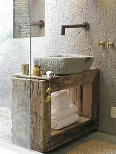 Meuble Salle De Bain Vintage : le th me du jour est la salle de bain r tro ~ Teatrodelosmanantiales.com Idées de Décoration