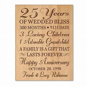 Personalized 25th anniversary gift for him25th wedding for 25th wedding anniversary gifts for husband