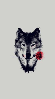 Geometric Wolf Phone Wallpaper by Wolf Sketch Wallpaper 2019 3d Iphone Wallpaper