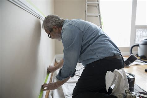 paint baseboards