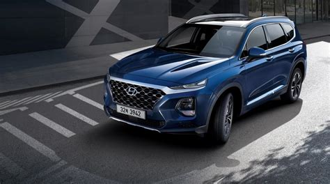 Hyndai Santa Fe by Hyundai Santa Fe 2018 International Launch Review Cars