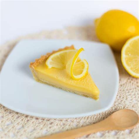 recette tarte au citron sans lactose facile rapide