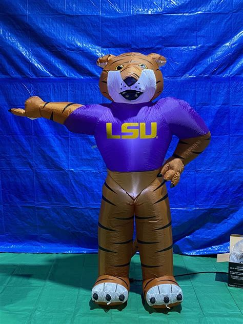 7' Air Blown Inflatable NCAA LSU Mike the Tiger Mascot