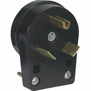 Shop Cooper Wiring Devices 30-Amp 125-Volt Black 3-Wire