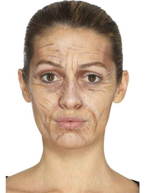 Old Age Makeup Kit by Smiffy 46996 | Karnival Costumes - £4.49