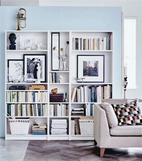 Baskets For Billy Bookcases by Ikea Shelves Shelves On Walls Bookshelf Styling