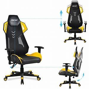 Merax Gaming Stuhl : merax gaming racing stuhl sessel schreibtischstuhl ~ Watch28wear.com Haus und Dekorationen