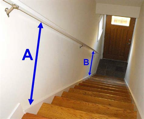 stair handrails   minimum standards   building