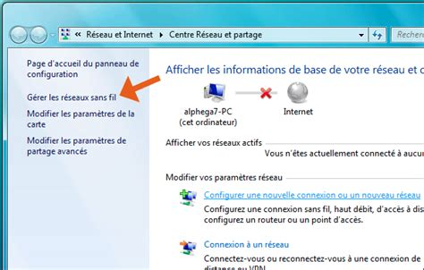comment connecter un ordinateur de bureau en wifi windows 7 seven comment se connecter au wifi sans fil