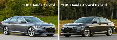 2019 Honda Insight Vs 2018 Honda Accord Hybrid