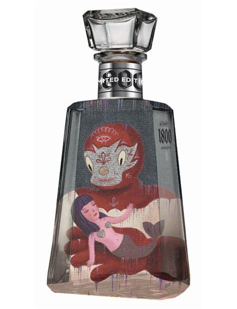 1800 Tequila Bottle