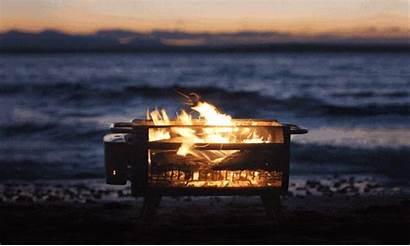 Fire Pit Firepit Biolite Campfire Smoke Grill