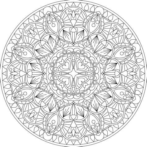 pin  anita lanz  mandalas mandala coloring pages