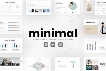 Minimal Presentation Templates Minimalist Powerpoint Keynote Simple
